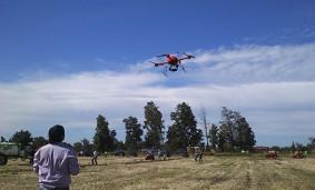 Drones, aliados del campo