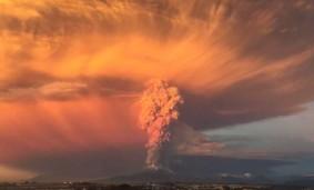 Explosión Volcán Calbuco