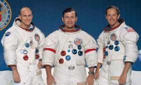 La tripulación de Apollo 16